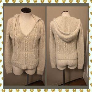 Lilu Beige Hoodie Sweater